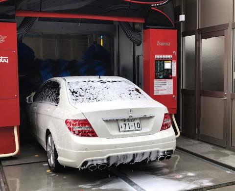 門型洗車機1